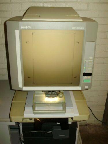 MINOLTA 603Z PLAIN PAPER MICROFICHE/MICROFILM READER PRINTER-FICHE CARRIER/LENS