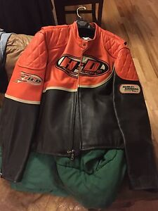 Manteau cuir Harley Davidson Racing