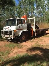 Hino crane truck Darwin CBD Darwin City Preview