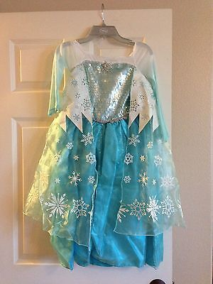 NWT Disney Store Frozen Elsa Bundle Costume Size 5/6 Tiara Crown Shoes 11/12  (Elsa Costume Shoes)
