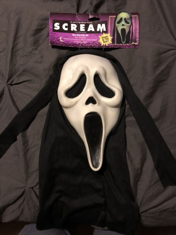 Scream Ghostface Mask Fun World Easter Unlimited (tagged) ASIS Scream 3