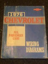 1976 CHEVROLET ALL PASSENGER CARS WIRING DIAGRAMS   eBay