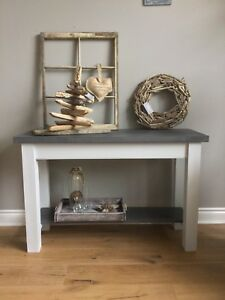 Two toned Console Table