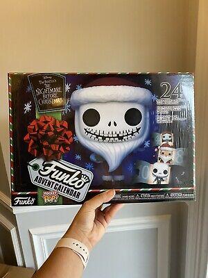 Funko Advent Calendar: The Nightmare Before Christmas - 24 Pocket Pop! Vinyl Fig