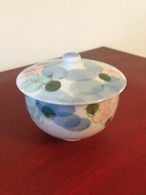 Porcelain Japanese Sugar Bowl