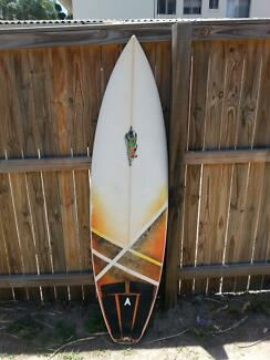 "Simmo 6'0 Surfboard (6'0"" 18 3⁄4"" 2 1⁄4"") Main Beach Gold Coast City Preview"
