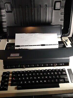 Vintage Swintec Collegiate Electric Typewriter With Hard Case Works Amazing