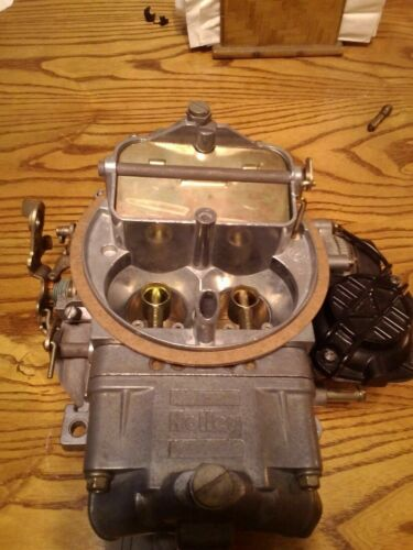 Holley Carburetor Service and cleaning