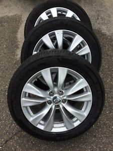 245/50R18 Tires on Infinity Rims