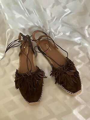 Aquazzura Firenze Italy Flats IT40 US9