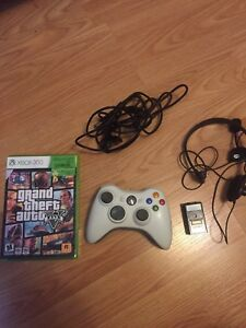 Xbox 360 gta 5 controller charger and battery