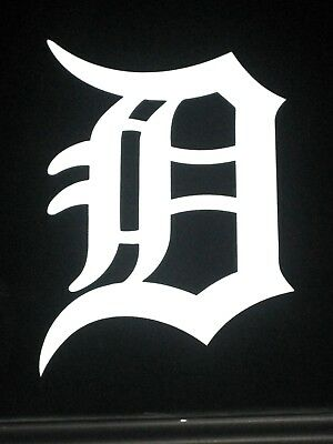 BUY ONE GET ONE FREE  Detroit Tigers Old English D MLB Vinyl Decal Sticker 77002 - Buy One Get One