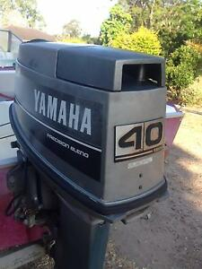 SAVAGE  14 FT YAMAHA 40 HP O/B &TRAILER CHEAP Salt Ash Port Stephens Area Preview