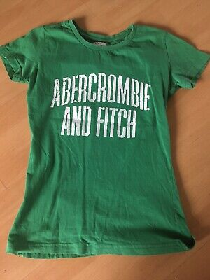Abercrombie And Fitch Green T Shirt Size Medium