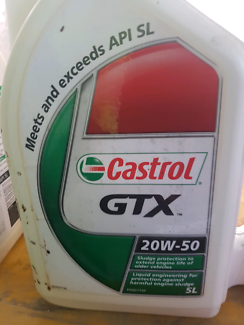 Castol 20w-50 5Ltr unopened