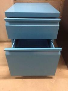 2 DWR Metal Filing Cabinet. It's all over now baby blue. Elwood Port Phillip Preview