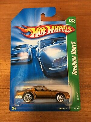 HOT WHEELS SUPER TREASURE HUNT HOT BIRD REAL RIDERS RUBBER TIRES
