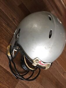 Used adult football helmet