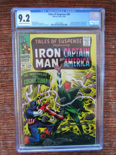Tales of Suspense 80 CGC 9.2 Captain America Red Skull Iron Man
