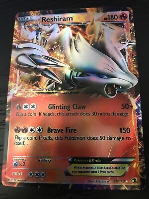 Reshiram EX 29/113 Legendary Treasures Holo Rare Pokemon Card Near Mint