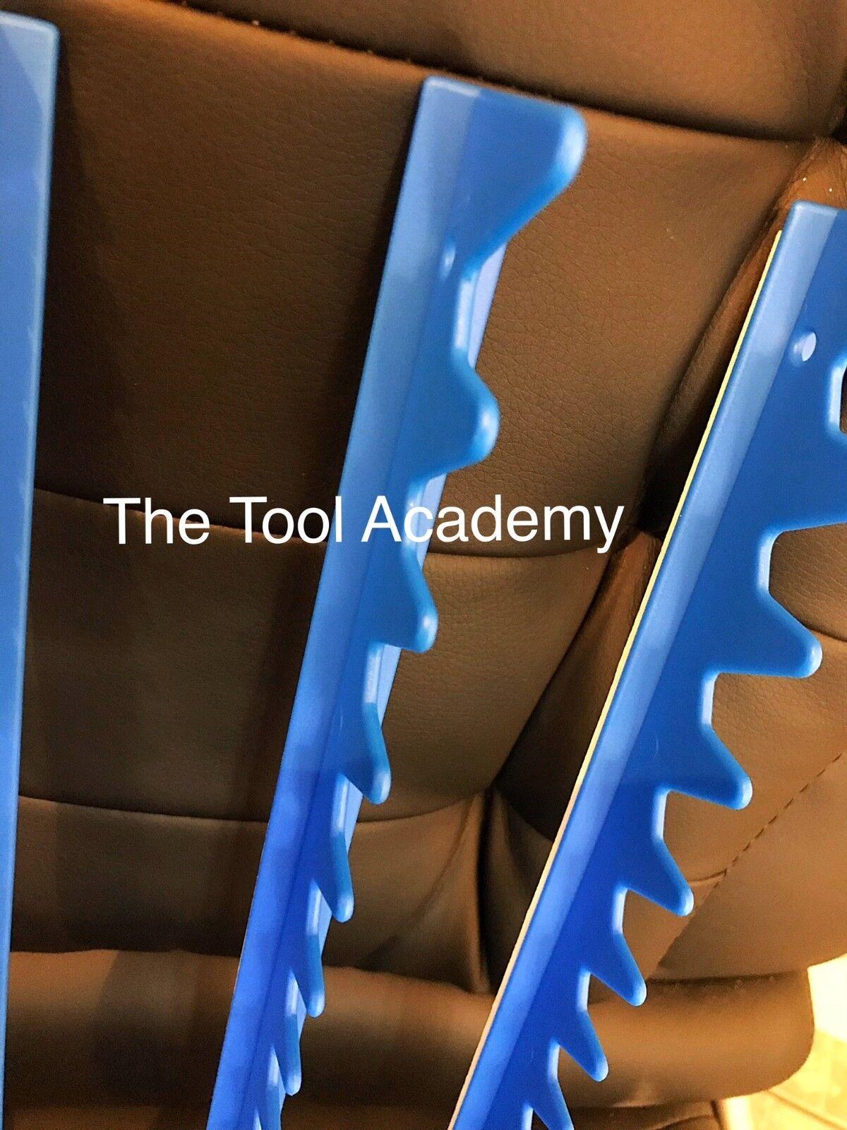 2 x Packs Of Blue Sharks Teeth Spanner Organiser for 40 Spanners Holder Rack