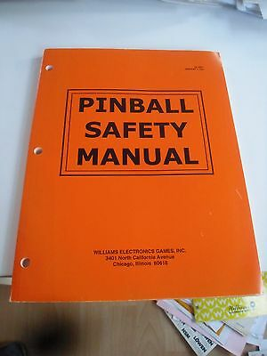 Pinball Safety Manual für Bally / Williams Flipper WPC