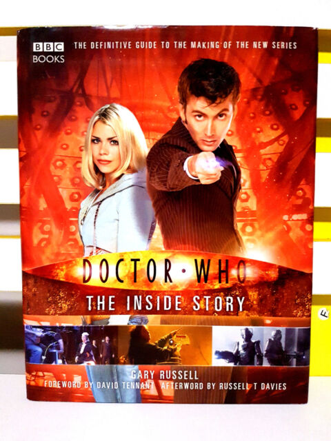 Doctor Who: The Inside Story! HB / DJ Book by Gary Russell!