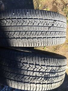 Two tires 255/70r16 $50 text 902 223 2108