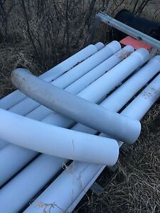 "6"" underground electrical conduit and 90's"