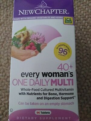 New Chapter Every Woman's 40+ One Daily Multi Vitamin 96 Tablets (New Chapter Every Womans One Daily Multi)