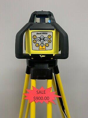 David White Lr 520hv Construction Rotary Laser Level