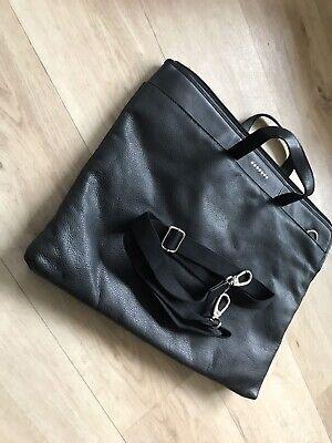 Filofax Nappa Tote Portfolio Leather Black