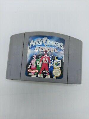 Power Rangers: Lightspeed Rescue Nintendo 64 N64 PAL Modul Spiel
