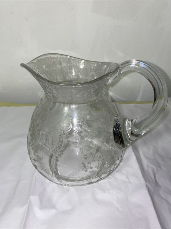 "Cambridge Rosepoint 8"" Pitcher"