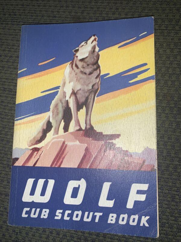 1954 Boy Scout Wolf Cub Scout Book  BSA