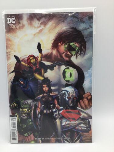 Titans #34 Cover B TYLER KIRKHAM Variant NM DC Comics