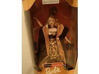 Barbie Bronze Sensation Gown /& Wrap Leopard Print 1998 Evening Set #20022 DeBoxd