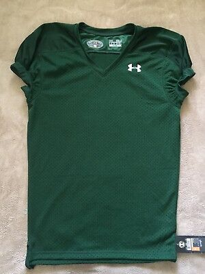 95e346b84 Under Armour Loose Heat Gear Performance Football Jersey Men's Small Green  MINT. $. 25.99. Buy It Now. Free Shipping