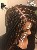MMA'S HAIR ( Caucasian and black hairstylist)