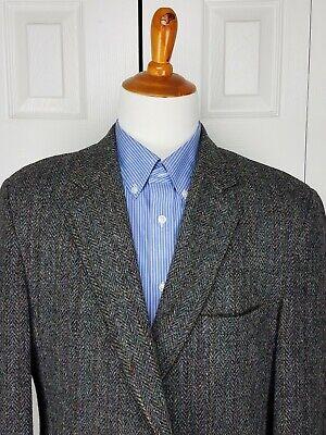 Harris Tweed Mens Sport Coat Blazer Suit Jacket Handwoven Scottish Wool Size 44R