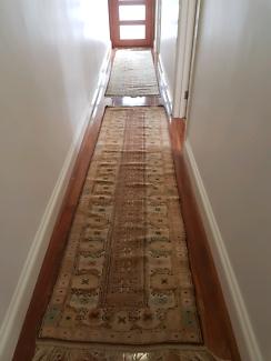 2 x hallway rugs