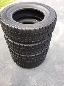 245/70/17 STUDDED COOPER TIRES
