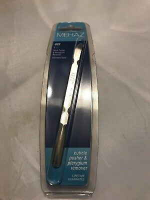 """Mehaz Professional Cuticle Pusher and Pterygium Remover 5 1/2""""."""