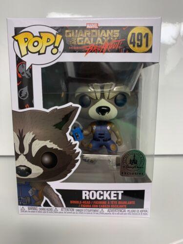 Funko Pop! Disney Parks Guardians of the Galaxy Mission Breakout Rocket #491