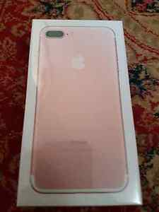 iPhone 7  plus rose  gold brand new 256gb Australian model Holden Hill Tea Tree Gully Area Preview