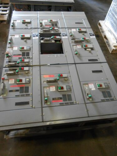 SQUARE D MODEL 6 MCC 1200 AMP SECTIONS PRICE PER EMPTY SECTION BUCKETS AVAIL