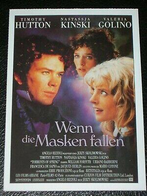 Filmkarte - Cinema - Wenn die Masken fallen (Die Masken Film)