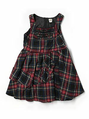 Girl Harajuku Mini for Target Holiday Plaid Party Dress Size XL 14/16