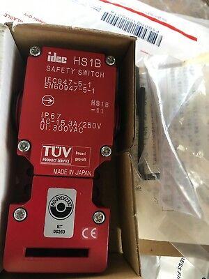 Idec Hs1b-11r Safety Interlock Switch 1 N.c. 1 N.c. New