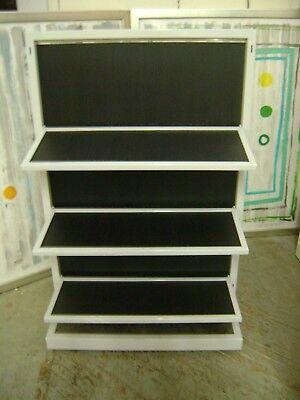Retail 6 Shelf Folding Shelving Unit Display Merchandiser Store Fixture